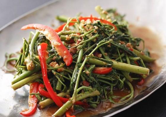 空心菜炒め物