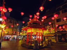 南京町春節夜景