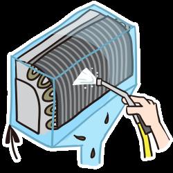 エアコン内部 洗浄